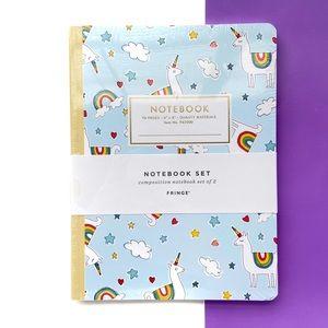 Set of Llamas & Pups Notebook & Bullet Journal